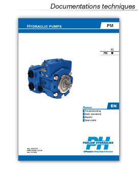 manuel de réparation et de réglage pompe hydraulique